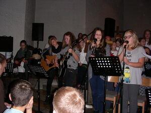 Traditionelle Lieder beim Adventskonzert des Schulzentrums Oberlenningen. Foto: Rainer Stephan