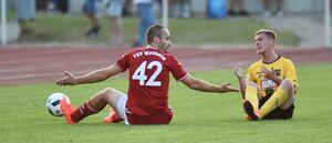 War das schon alles? Die TSVW-Kicker um Neuzugang Georgi Natsis wähnen ihr Potenzial längst noch nicht ausgeschöpft. Foto: Markus Brändli