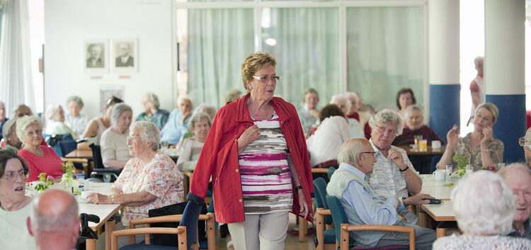 Catwalk im Pflegeheim - Datenschutz - Teckbote