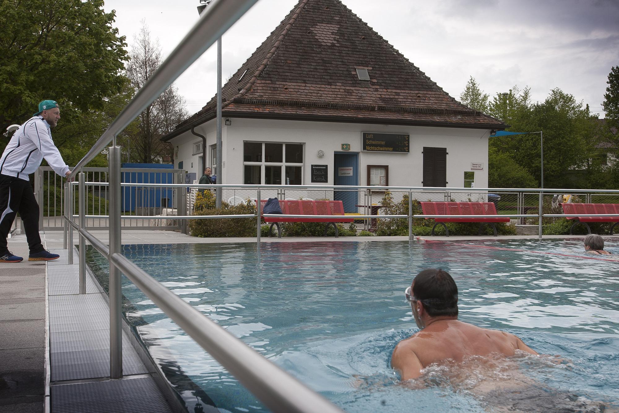 Kirchheim frischt das Freibad auf - Startseite - Teckbote