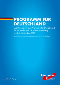 AFD Wahlprogramm