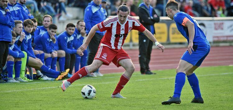 Ausgetanzt: Ob Tobias Heim und die TSVW-Kicker in Frickenhausen ähnlich überzeugen können wie beim 4:0 im Hinspiel daheim? Foto: Markus Brändli