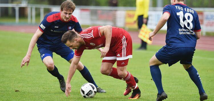 Stürzen Lennart Zaglauer und seine Mitspieler weiter in den Abstiegsstrudel?Foto: Markus Brändli