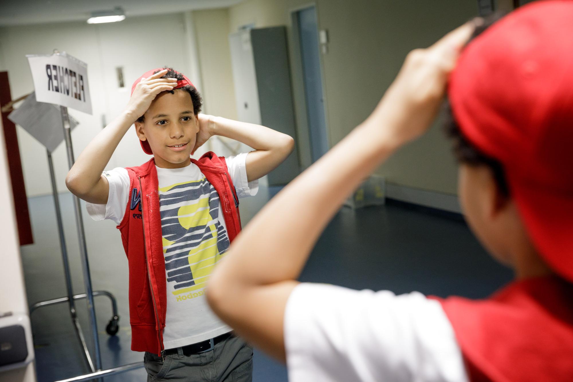 """Typ junger Michael Jackson"""