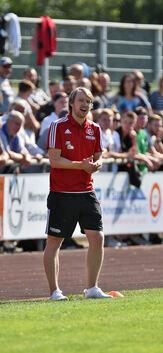 """""""Es wird bestimmt spannend"""": TSVW-Coach Robert Walter. Foto: Markus Brändli"""