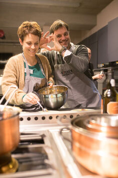 Valentinstag Kitchen Confidental mit Thomas ZappKoch Tobias Scheu Kochen Event
