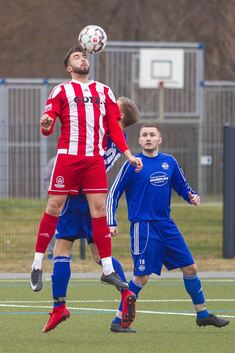 Alles Kopfsache: Marc Djorovic und die TSVW-Kicker wittern nach dem zweiten Saisonsieg wieder Morgenluft im Abstiegskampf der Landesliga. Foto: Genio Silviani