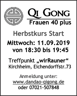 Herbst: Qi Gong