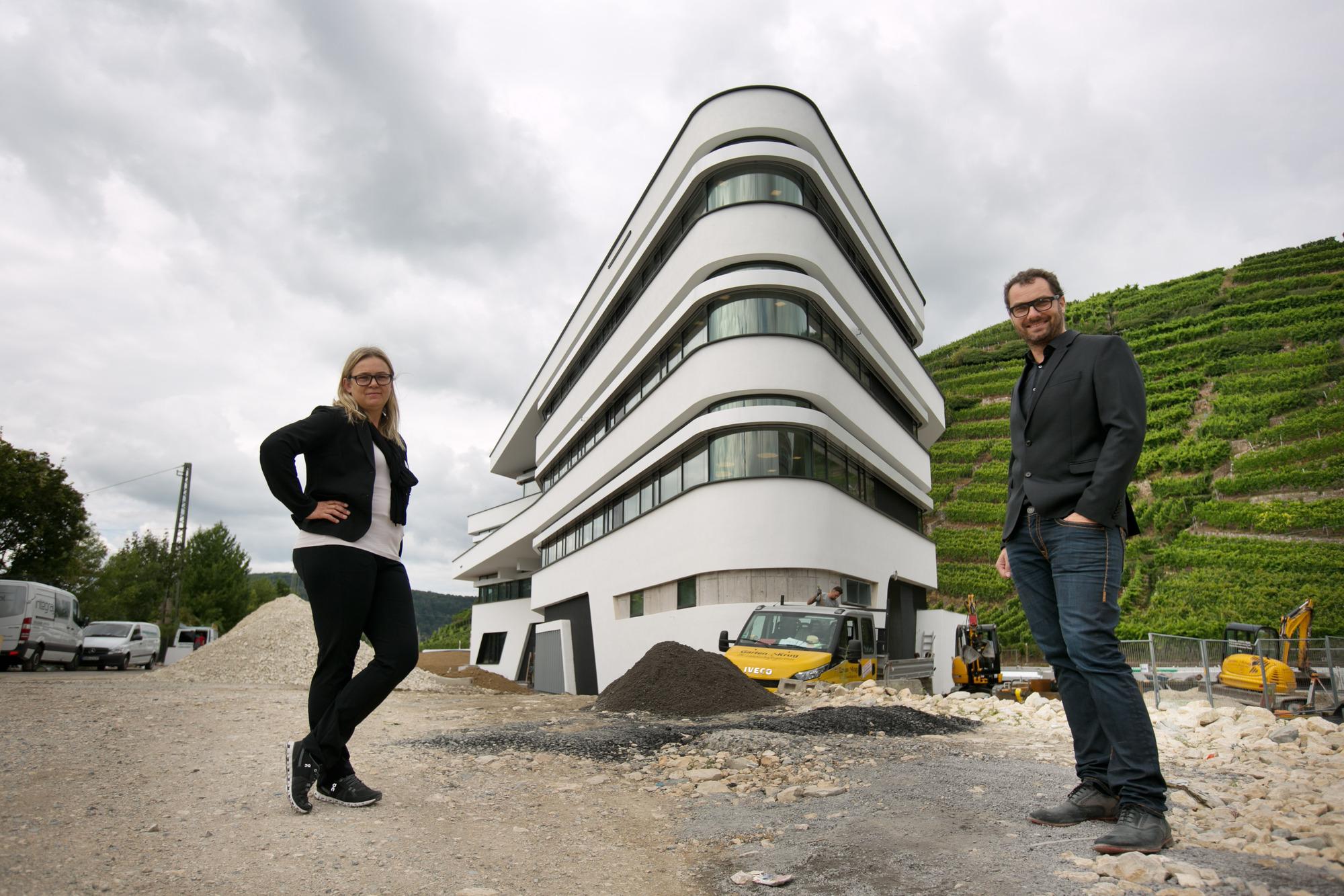 Architekten Esslingen glücksfall schmückt tortengrundstück zwischen neckar und alb